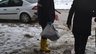 Gazete kağıdına sarılı kesik kadın kolu bulundu