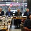 CHP'nin Sultangazi Belediye Başkan adayıHaluk Bozkurt Meclis adayları ile bir araya geldi