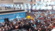 DSP'nin Şişli adayı Mustafa Sarıgül, Kurtuluş'ta yüzlerce vatandaş tarafından coşkuyla karşılandı.