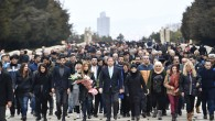 Maltepeliler Başkan Kılıç'la Ata'nın huzuruna çıktı