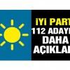 İYİ Parti 112 belediye başkan adayını daha açıkladı!