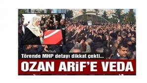 Ozan Arif son yolculuğuna uğurlandı