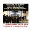 Allah belanızı versin sizin Türkiye yi ne hale getirdiler