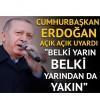 Erdoğan: Ne pahasına olursa olsun bu terör koridorunu yıkacağız