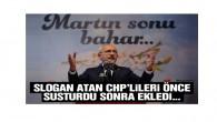 Kılıçdaroğlu: Slogan atmakla sorun çözülseydi çoktan çözerdik