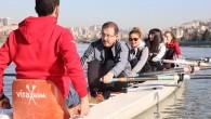 AK Parti Eyüpsultan Belediye Başkan Adayı Deniz Köken, Haliç sularında kadınlarla birlikte kürek çekti…
