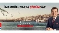 Ekrem İmamoğlu CHP  İstanbul Büyükşehirbelediye Başkan Adayı
