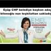 Eyüp CHP belediye başkan adayı emel bilenoğlu nun teşkilattan sakladığı sır ne