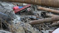 İzmir'de metro inşaatında göçük