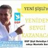 Mustafa Sarıgül DSP Şişli Belediye Başkan Adayı