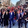 Gaziosmanpaşa CHP belediye başkan adayı Erkan Kaya Türkiye sakatlar derneği Gaziosmanpaşa şubesini ziyaret etti