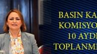 Şevkin: Basın Kartı Komisyonu, 10 aydır toplanmıyor