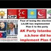 AK Party Istanbul a.b.how did he implement Plan C?