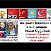 Ak parti İstanbul da a.b.c planını nasıl uyguladı