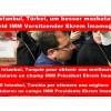 Und Istanbul, Türkei, um besser mazbatalarını ein Feld IMM Vorsitzender Ekrem İmamoğlu