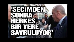 Cumhurbaşkanı Erdoğan: En ufak bir sarsıntı da merkezi bırakıp başka yerlere kaçmayacak