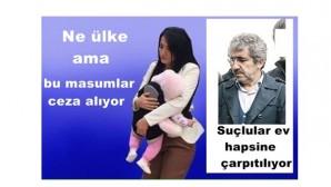 Türkiye deki yargı ve hukuk bu masumlar ceza alıyor suçlular ev hapsine çarpılıyor ne ülke ama