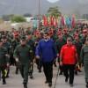 Dünya basını bu kareyi konuşuyor… Maduro'dan kışlada gövde gösterisi