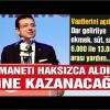 İmamoğlu vaatlerini açıkladı! Dar gelirliye 6.000 ile 13.000 lira arası yardım