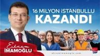 Ekrem İmamoğlu İstanbul Büyükşehir belediye başkan adayı