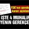 İstanbul kararına karşı çıkan 4 üyenin muhaet şerhi