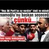 """Herkes bunu konuşuyor… """"Hep AK Parti'ye oy verdim"""" dedi ve ekledi: İmamoğlu'nu başkan yapacağız çünkü…"""