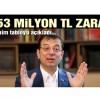 Ekrem İmamoğlu'nun açıkladığı vahim tablo: 753 milyon TL zarar