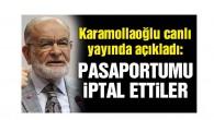 SP lideri Temel Karamollaoğlu'nun pasaportu iptal edildi