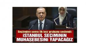Erdoğan sözlerine İmamoğlu'nu kutlayarak başladı
