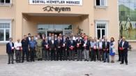 Arnavutköy Kaymakamı gazilere madalya verdi
