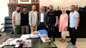 İyi Kalpler Yardımlaşma ve Kültür Derneği Bayrampaşa Belediye Başkan Yardımcılarını Ziyaret Etti.