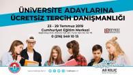 Belediyeden üniversite adaylarına ücretsiz danışmanlık