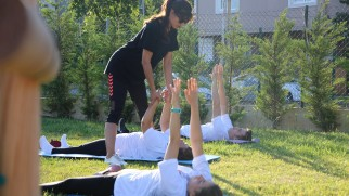 Maltepe güne sporla başlıyor