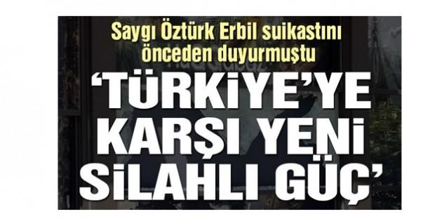 Erbil saldırısını geçekleştiren dört terörist de Türk vatandaşı çıktı