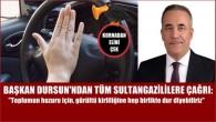 Sultangazi'de 'Kornadan Elini Çek' Kampanyası