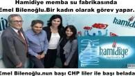 Emel Bilenoğlu.nun başı CHP liler ile başı belada