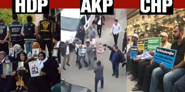 HDP, AKP ve CHP gariban halkı böyle kullanıyor.