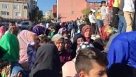 """Arnavutköy Boğazköy """"de Yıkılan Okul İçin veliler Bir araya geldi."""