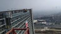 5 aydır maaşları verilmeyen işçiler İzmir Şehir Hastanesi inşaatında eylemde