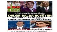 MehmetçiğeSelamGönder kampanyası hızla yayılıyor