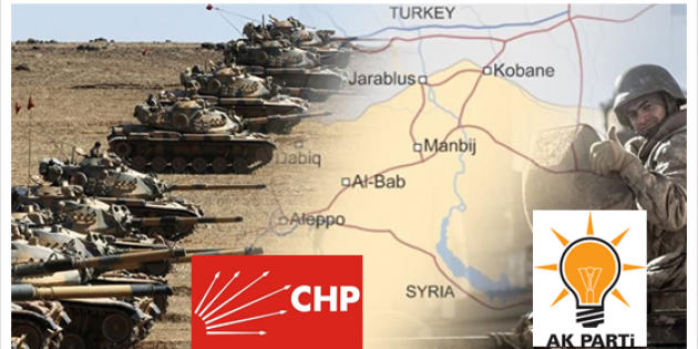 BarışPınarıHarekatı´nda CHP oyları dibe vurdu halk güvenini yetirdi