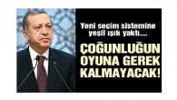 Cumhurbaşkanı Erdoğan'dan yüzde 50+1 açıklaması
