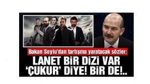 Süleyman Soylu'dan Çukur ve Adana Sıfır Bir dizileri ile ilgili sert açıklama