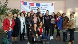 Eyüpsultan Anadolu Lisesi Erasmus misafirlerini ağırladı
