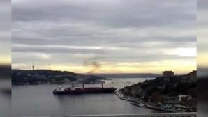 İstanbul Boğazı'nda 'Kanal İstanbul' kazası