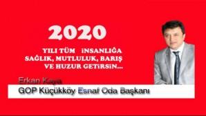 Erkan Kaya G.O.Paşa küçükköy Esnaf ve sanatkarlar Odası Başkanı