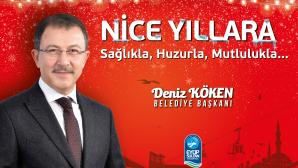 Eyüpsultan belediye başkanı Deniz Köken Yeni Yıl Mesajı