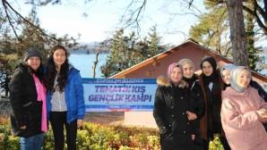 Eyüpsultanlı Gençler, Kış Kampı'nda Kefken'de Buluştu