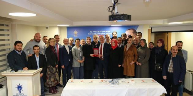 """BAYRAMPAŞA """"DA DANIŞMA MECLİSİ TOPLANTISI GERÇEKLEŞTİ."""