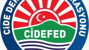 Cide Dernekler Federasyonundan, Cide'ye maddi destek